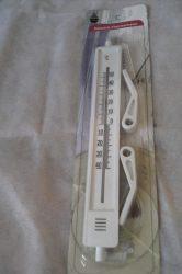 Ablakhőmérő, műanyag