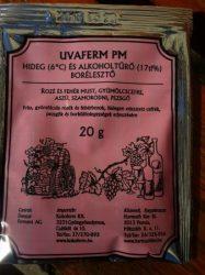 Borélesztő, Uvaferm PM, hideg és alkoholtűrő, 20 g