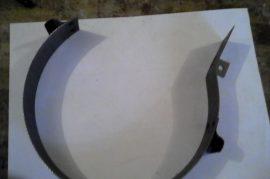 FVIII/64 terménydaráló rosta 1 mm-es lemezvastagsággal, 1,5 mm-es perforációval