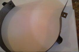 FVIII/64 terménydaráló rosta 0,8mm-es lemezvastagsággal, 0,8 mm-es perforációval