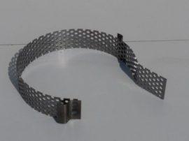 Terménydaráló rosta FVIII/B darálóhoz 1 mm-es lemezvastagsággal, 7 mm-es perforációval