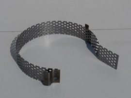 Terménydaráló rosta FVIII/B darálóhoz 1 mm-es lemezvastagsággal, 8 mm-es perforációval
