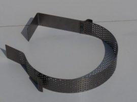 Terménydaráló rosta FVIII/S darálóhoz 8 mm-es perforációval, 1 mm-es lemezvastagsággal