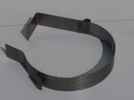 Terménydaráló rosta FVIII/S darálóhoz  12  mm-es perforációval, 1 mm-es lemezvastagsággal