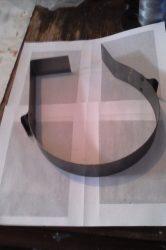 Terménydaráló rosta FVIII/S darálóhoz 0,8 mm-es lemezvastagsággal, 0,8mm-es perforációval