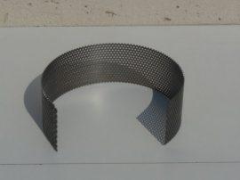 Terménydaráló rosta KD161darálóhoz 1 mm-es lemezvastagsággal,  2 mm-es perforációval