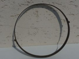 Terménydaráló rosta KD 400 terménydarálóhoz 1,5 mm-es lemezvastagsággal, 8 mm-es perforációval