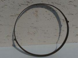 Terménydaráló rosta KD400 darálóhoz 1 mm-es lemezvastagsággal, 1,5 mm-es  perforációval