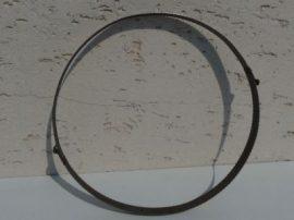 Terménydaráló rosta KD400 darálóhoz 1 mm-es lemezvastagsággal, 2,5 mm-es  perforációval