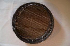 Terménydaráló rosta OMAS terménydarálóhoz 3 mm-es lyukátmérővel, 1,5 mm-es lemezvastagsággal