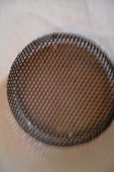 Terménydaráló rosta OMAS terménydarálóhoz 4 mm-es lyukátmérővel, 1,5 mm-es lemezvastagsággal